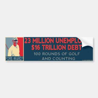 De gedeelte-Afdeling van Obama de Sticker van de B
