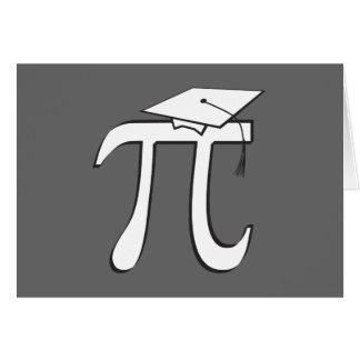 De Gediplomeerde van de wiskunde Pi Notitiekaart