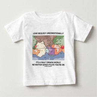 De Gedreven Wereld van de Geologie van de liefde Baby T Shirts