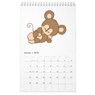 De Gedrukte Kalender van kinderen Douane