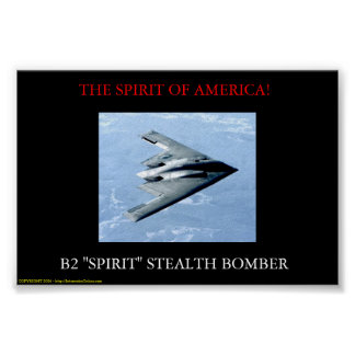 De geest van Amerika Poster