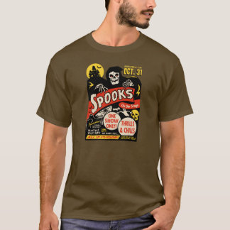 de Geest van jaren '50 toont het Art. van het T Shirt