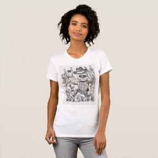 De geheime T-shirt van de Tekening van de Inkt van