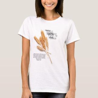 De Gehele Tarwe van 100% T Shirt
