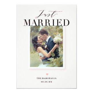De Gehuwde enkel Aankondiging van het Huwelijk van
