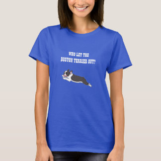 De Geïllustreerde T-shirt van Boston Terrier