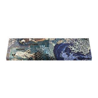 De Geisha die van de zomer Nami breken Canvas Afdrukken