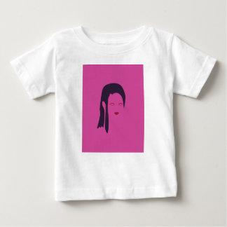 De geisha Etnisch roze van het ontwerp Baby T Shirts