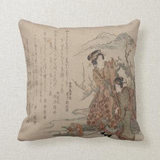 De Geisha's van de berg Sierkussen