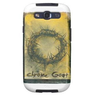 De Geit van het chroom op uw mobiel! Samsung Galaxy SIII Hoesje