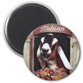 De Geit van Nubian Magneet