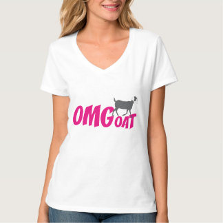 De Geit van Nubian van OMGoat de Minnaars OMG van T Shirt