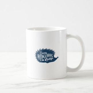 De gekke Dame van de Egel Koffiemok