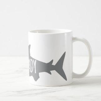 De gekke Dame van de Haai Koffiemok
