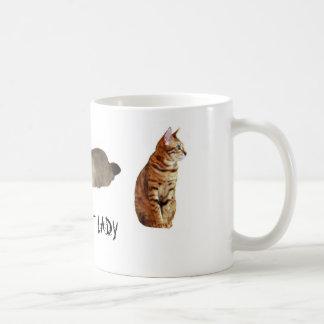 De gekke Dame van de Kat Koffiemok