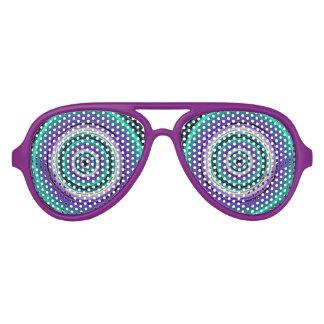 De gekke Glazen van de Partij van de Cartoon Aviator Zonnebril