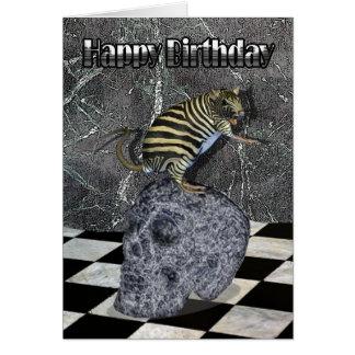 De gekke Kaart van de Verjaardag van het Schepsel