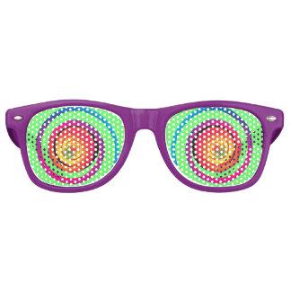 De gekke Schaduwen van de Partij van Ogen Retro Zonnebril