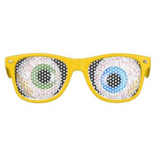 De gekke Schaduwen van Ogen Feestbril