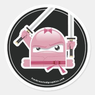 De gekke sticker van Vaardigheden Ninja