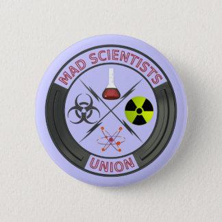 De gekke Unie van de Wetenschapper Ronde Button 5,7 Cm