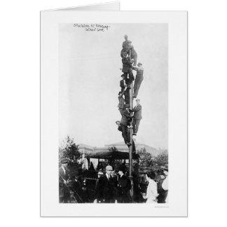 De gekke Ventilators 1909 van Basefall van Piraten Briefkaarten 0