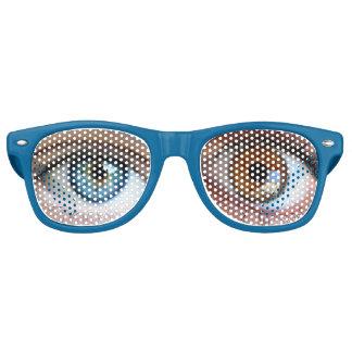 De gekke Wayfarer van de Douane van Ogen Volwassen Festival Zonnebril