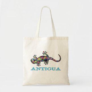 De gekko van Antigua Draagtas