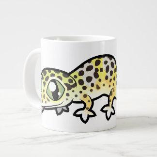 De Gekko van de Luipaard van de cartoon Grote Koffiekop