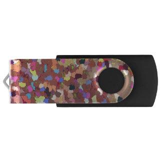 De gekleurde Aandrijving van de Flits van USB van