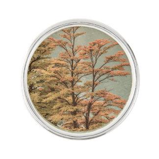 De Gekleurde Bomen van het landschap Scène bij het Reverspeld