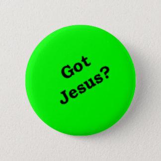 """De """"gekregen Jesus?"""" knoop Ronde Button 5,7 Cm"""
