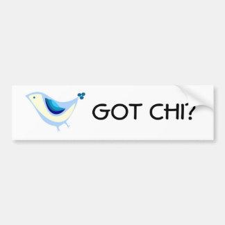 De gekregen Sticker van de Bumper van de Chi