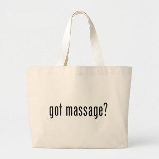 De gekregen Zak van de Therapeuten van de Massage  Grote Draagtas