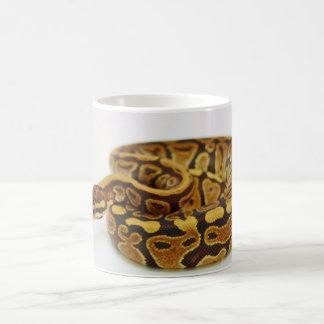 De gele en Zwarte Python van de Bal Koffiemok
