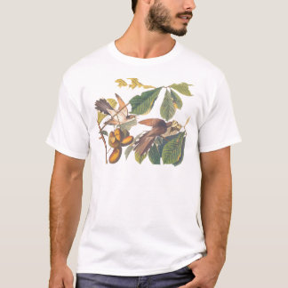 De gele gefactureerde Koekoek van Audubon T Shirt