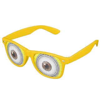 De gele Glazen van het Kostuum van de Partij van Retro Zonnebril