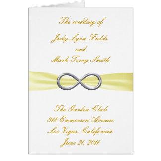 De gele Kaart van het Programma van het Huwelijk