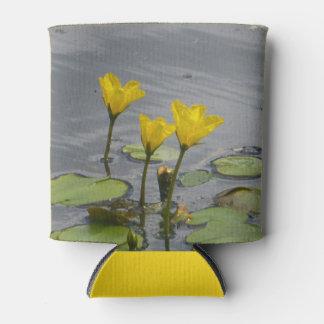 De gele Koelbox van Waterlelies Blikjeskoeler