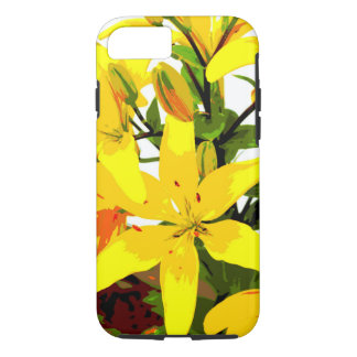 De gele Lelie van de Dag - het Hoesje van iPhone