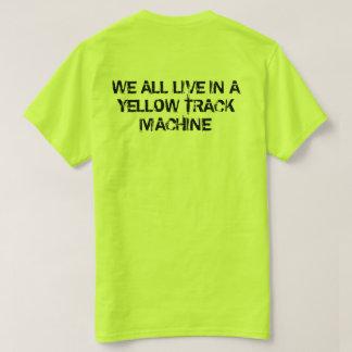 De Gele Machine van het Spoor MTM T Shirt