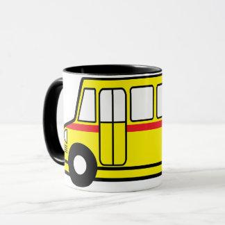 De gele Mok van de Bus van de School