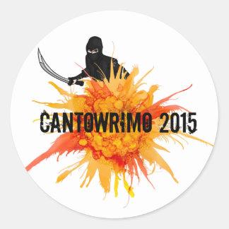 De Gele Stickers Ninja van Cantowrimo