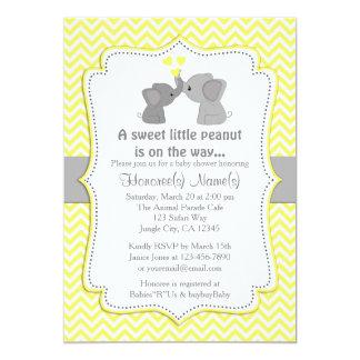 De gele Uitnodigingen Chev 170 van het Baby shower