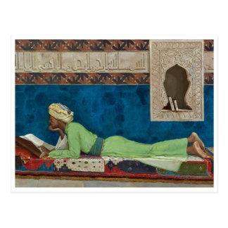 De geleerde door Osman Hamdi Bey Briefkaart