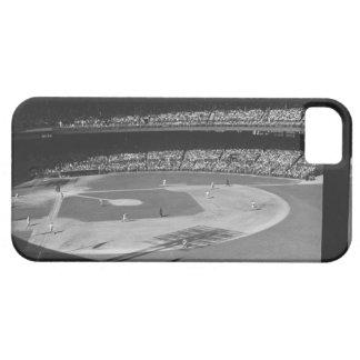 De gelijke van het honkbal op stadion barely there iPhone 5 hoesje