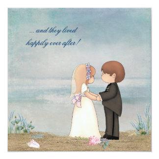 De Geloften van het Huwelijk van het strand Kaart
