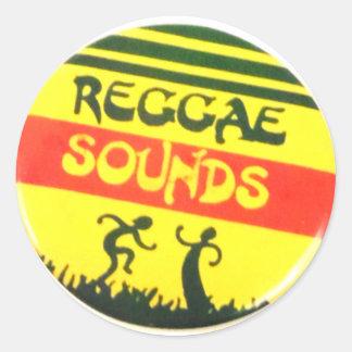 De Geluiden van Reggae om Sticker
