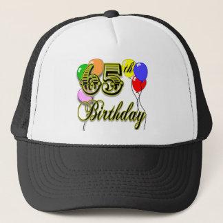 De gelukkige 65ste Koopwaar van de Verjaardag Trucker Pet