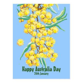 De gelukkige Dag van Australië Briefkaart